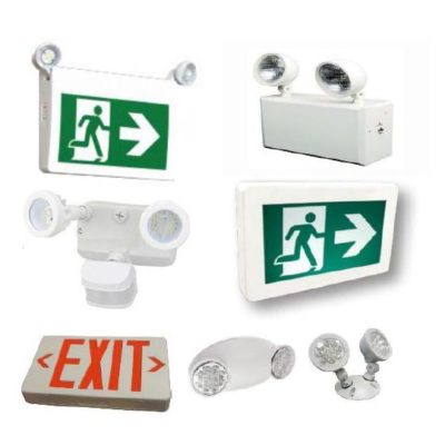 EXIT & Emergency Lights