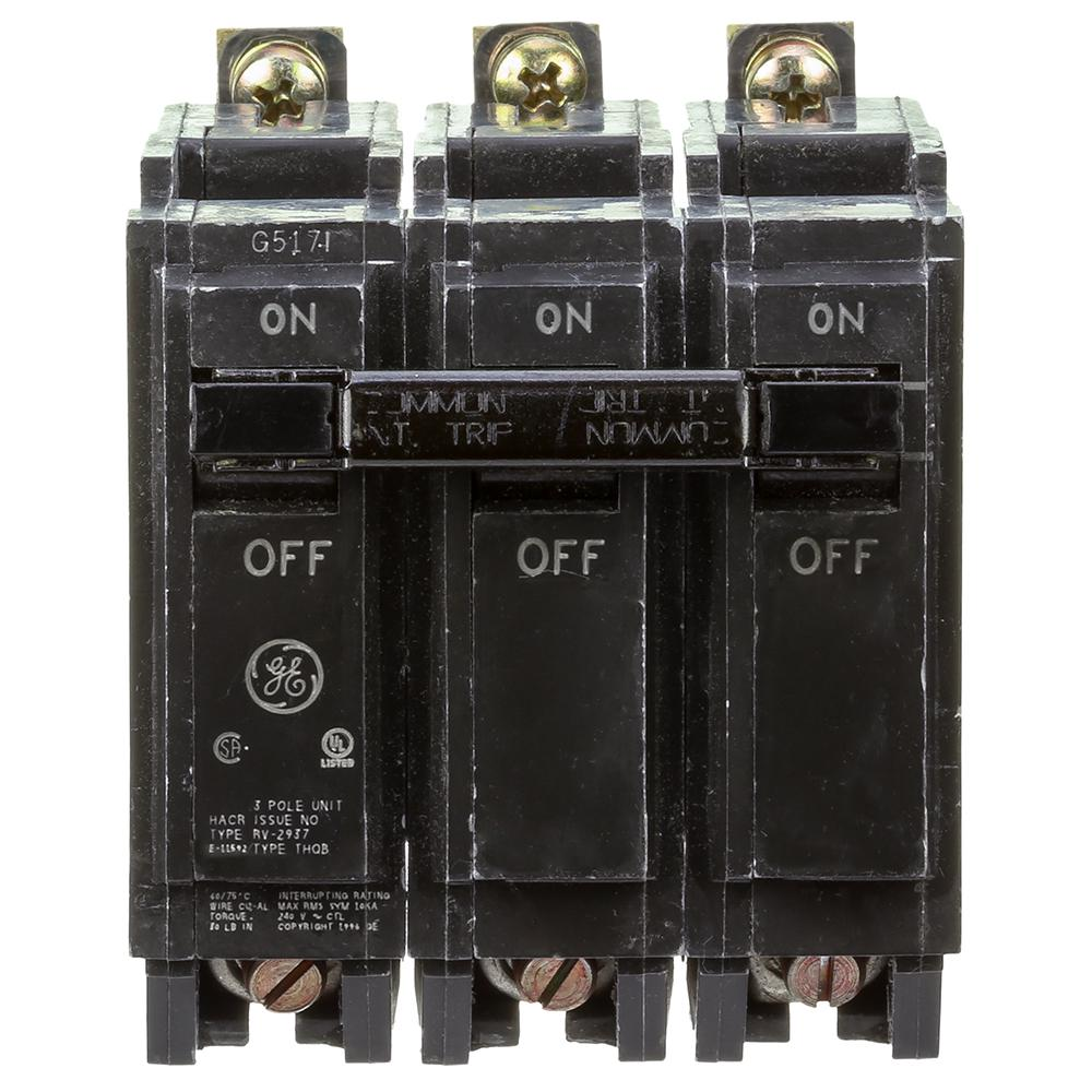 GE breaker 3P BOLT ON THQB32100 - Ameleco - Best Electrical ...