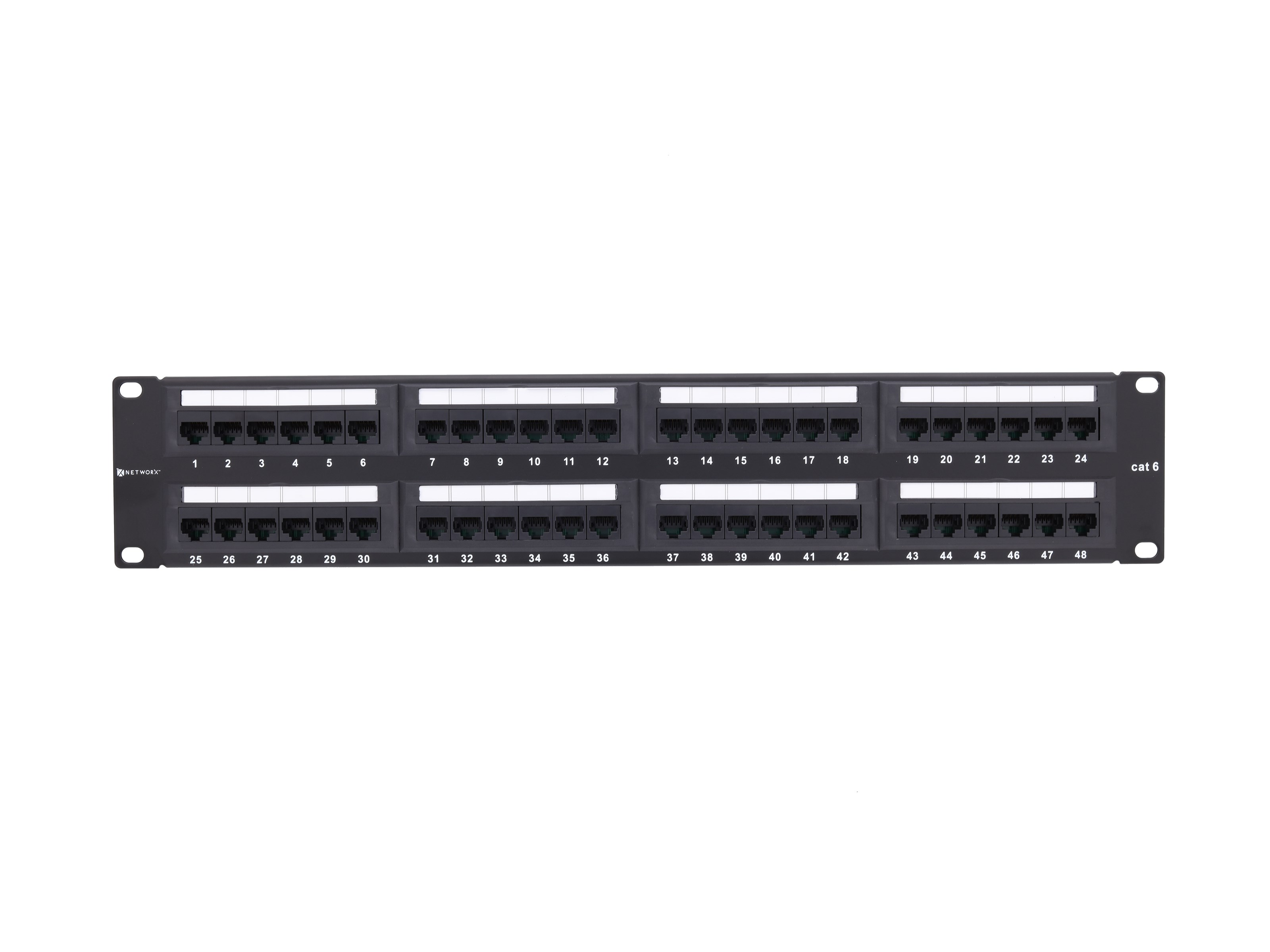 Cat 6 48 Ports Patch Panel Ameleco Best Electrical
