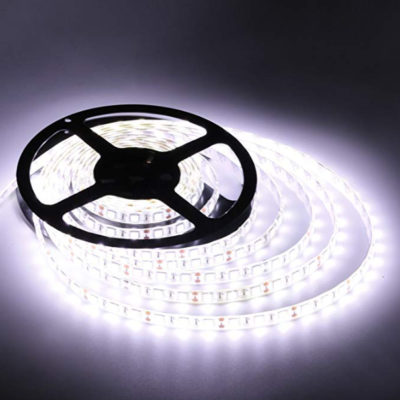 LED Strip - 120V -12mm - Waterproof - 5 meters per roll - Cool White - led light strips
