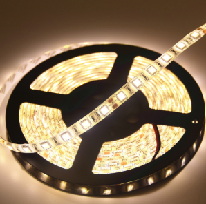 LED Strip - DC12V, 24W 2216, Warm White, 5 metres per roll