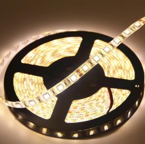 LED Strip - DC12V, 24W 2216, Warm White, 5 metres per roll