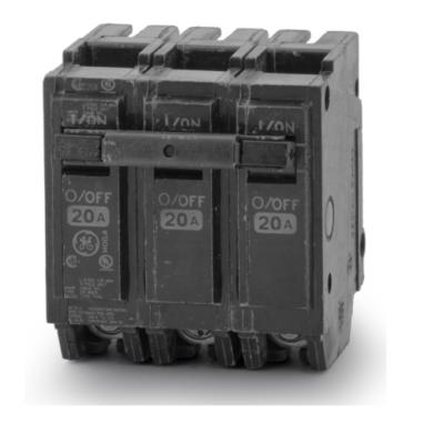 GE Breaker - 3P 20A THQL32020