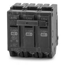 GE Breaker - 3P 40A- THQL32040
