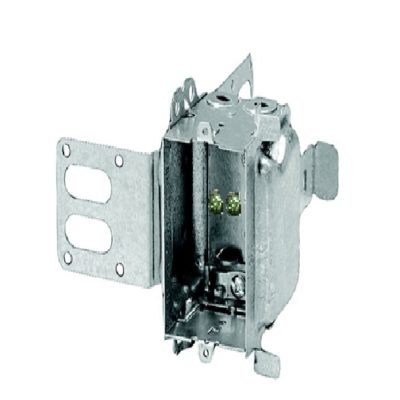Metal Box-1-Gang-Device-Box-wraparound-bracket-steel-box