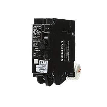 Siemens-GFCI-Breaker-QF115A-Circuit-Breaker-Plug In