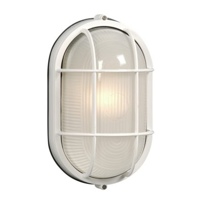 Marine Light - Oval - White
