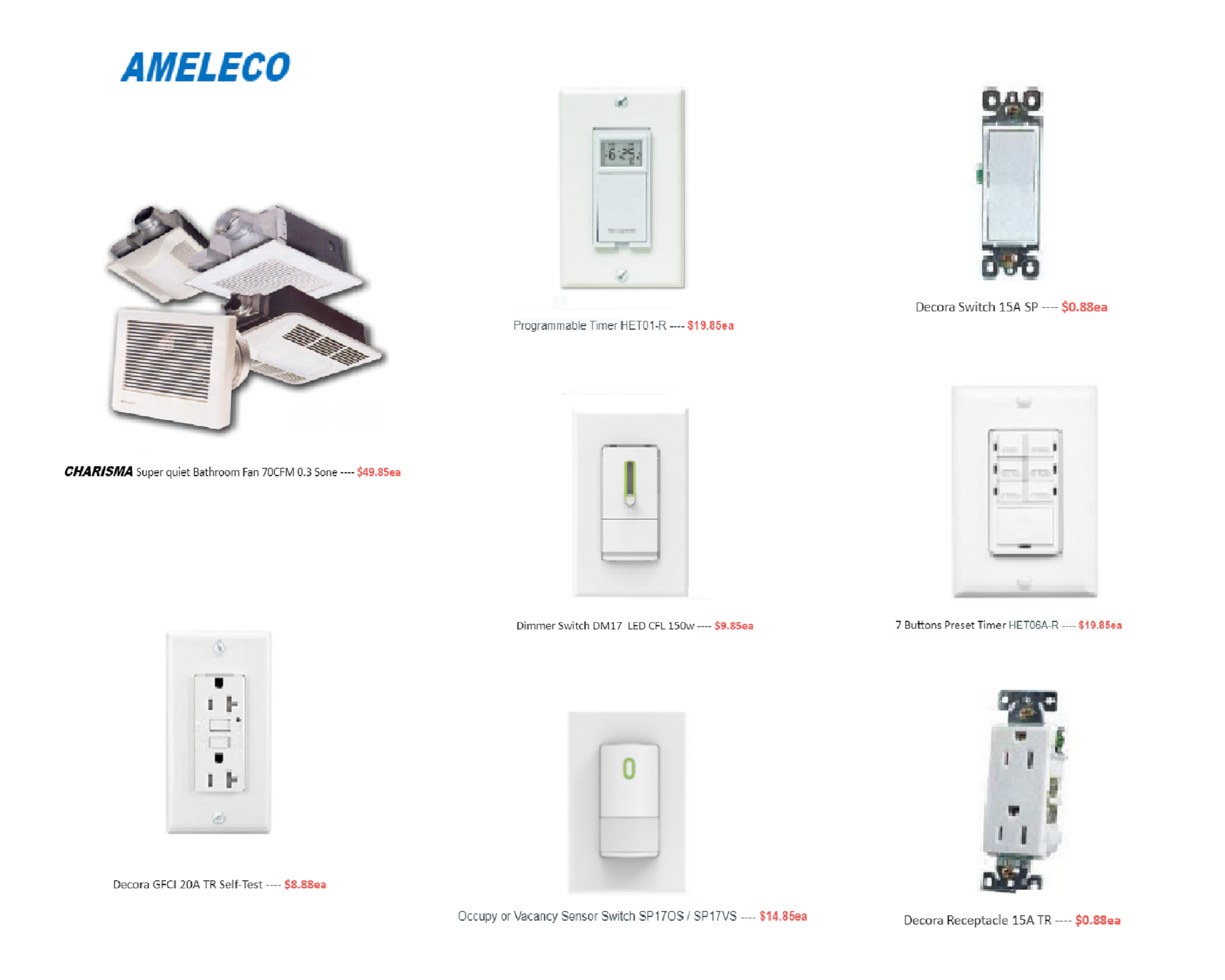 May Sale - Ameleco Electric